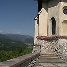 Bled Castle  by chijude