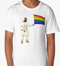 Moon Landing Pride Long T-Shirt