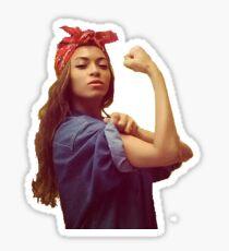 Beyoncé We Can Do It  Sticker