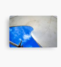 Sky Beach Brazil Canvas Print