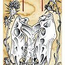 Elder Futhark 19. Ehwaz by hauntingbeauty