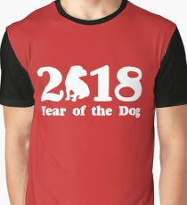 Year of the Dog 2018 Graphic T-Shirt