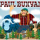 Paul Bunyan by clockworkmonkey
