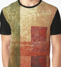 Converge, Abstract Geometric Texture Art Graphic T-Shirt