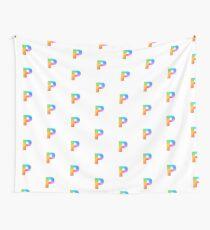 Rainbow P Wall Tapestry