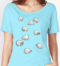 sheep Women's Relaxed Fit T-Shirt