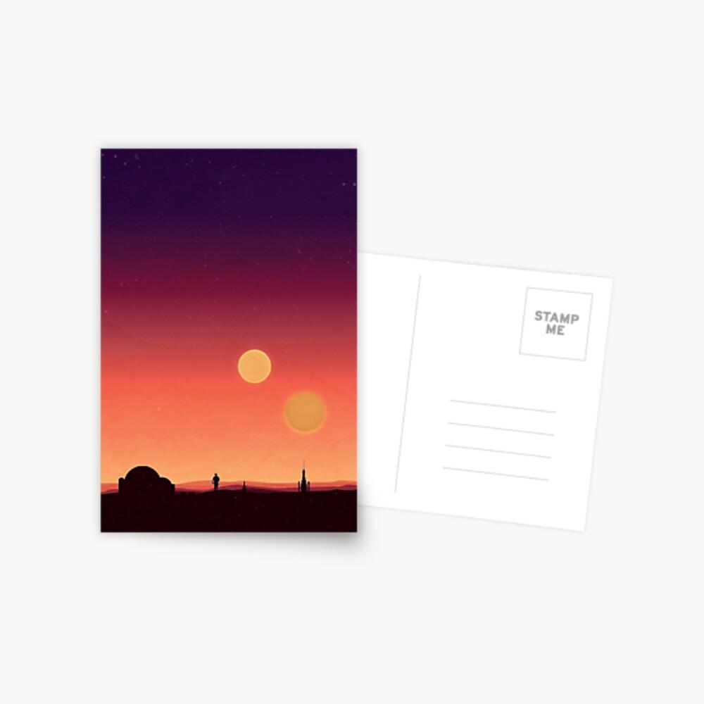 Tatooine Postkarte