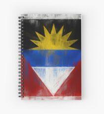Antigua And Barbuda Flag Reworked No. 2, Series 2.jpg Spiralblock
