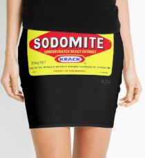 SODOMITE Clothing, Cards, Device Cases, Tote Bags & Home Decor Mini Skirt