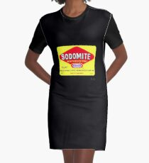 SODOMITE Clothing, Cards, Device Cases, Tote Bags & Home Decor Graphic T-Shirt Dress