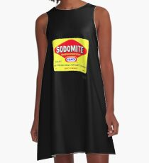 SODOMITE Clothing, Cards, Device Cases, Tote Bags & Home Decor A-Line Dress