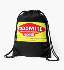 SODOMITE Clothing, Cards, Device Cases, Tote Bags & Home Decor Drawstring Bag