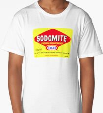 SODOMITE Clothing, Cards, Device Cases, Tote Bags & Home Decor Long T-Shirt