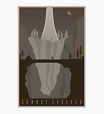 Halo Combat Evolved Vintage Travel Poster Photographic Print