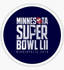 Super Bowl LII Sticker