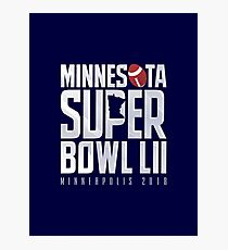 Super Bowl LII Photographic Print