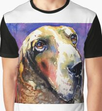 Cute basset hound cd Graphic T-Shirt