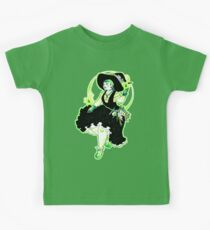 Plant Witch - Green Witch - Bruja de las plantas - Bruja Verde Kids Tee