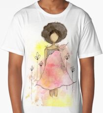 Splotch Girl - Freedom Long T-Shirt