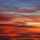 evening sky by linsads