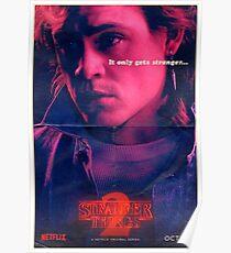 Stranger Things Billy Poster