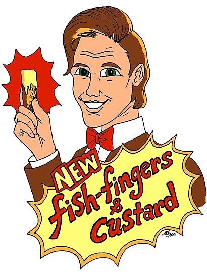 """New Fish-Fingers and Custard!"" by Skye Elizabeth  Tranter"