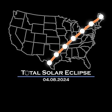 America Totality Total Solar Eclipse April 8 2024 by priny