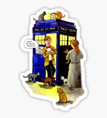 Cat Lady Companion Sticker