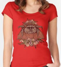 Flower Crown Ludo Women's Fitted Scoop T-Shirt
