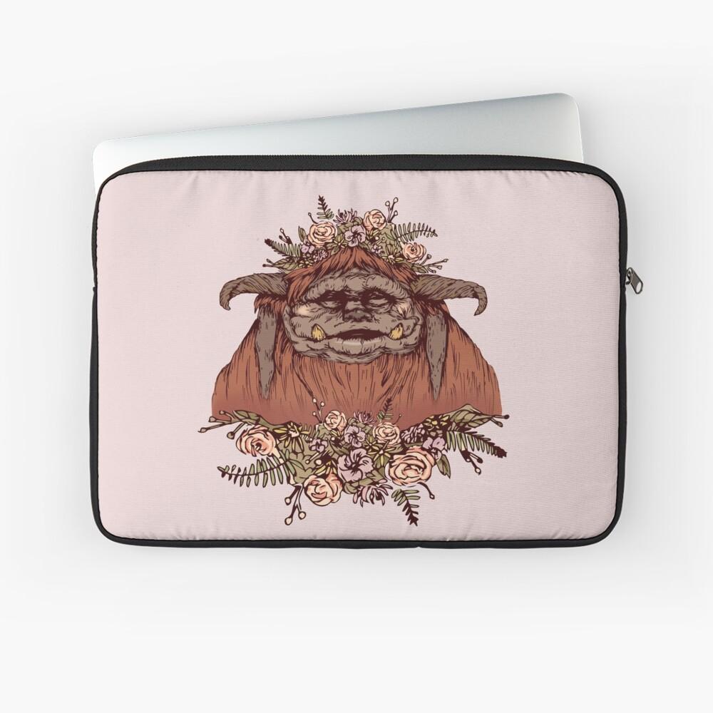 Flower Crown Ludo Laptop Sleeve