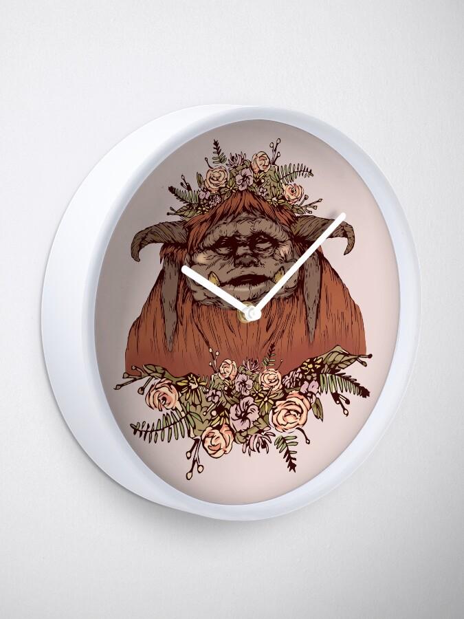 Alternate view of Flower Crown Ludo Clock