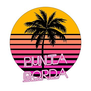 Punta Gorda, Fat Point, Florida, Beach by tshirtbrewery