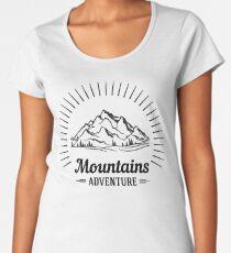 Wanderlust Mountains Adventure Women's Premium T-Shirt