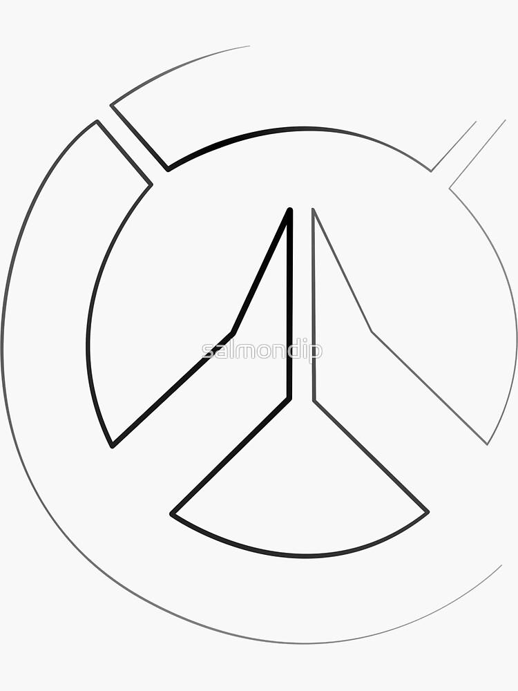 Strichzeichnungen - OW Logo von salmondip