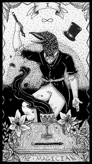 'The Magician - Tarot Card' Poster by MarsArtwork