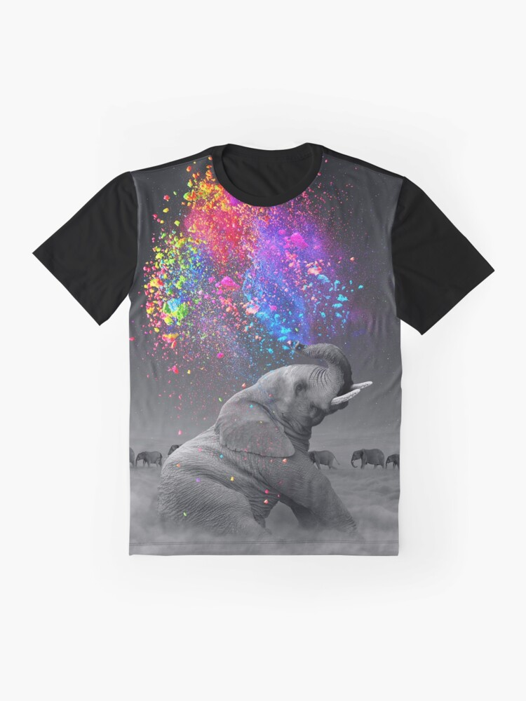 Alternate view of True Colors Within Graphic T-Shirt
