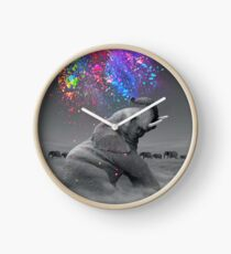 True Colors Within Clock