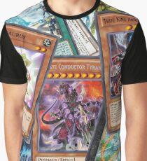 Yu-Gi-Oh! Dinosaur Deck Graphic T-Shirt