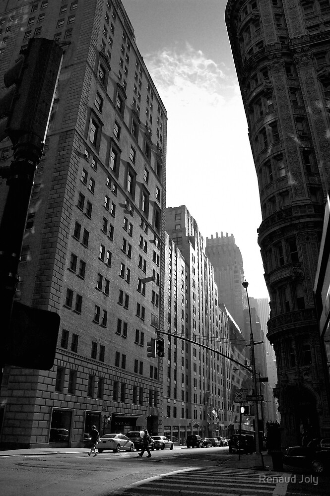 New York en noir et blanc (New-York black and white) by Renaud Joly