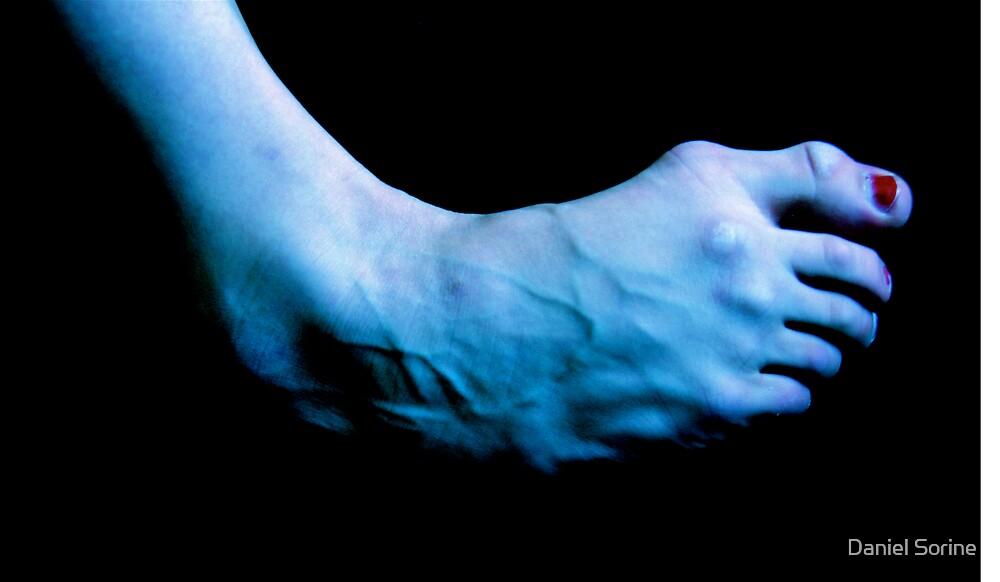 A dancer's foot by Daniel Sorine