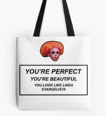 Rupaul's Drag Race - You Look Like Linda Evangelista Tote Bag