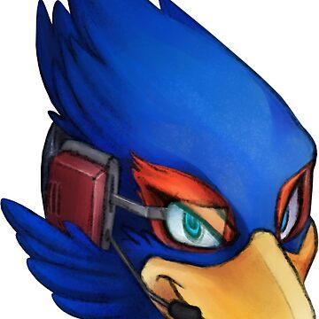 Falco Sticker by jfells