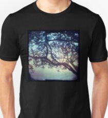 Sunset trees ttv photograph Unisex T-Shirt