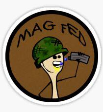 Magfed Spoon Guy Sticker