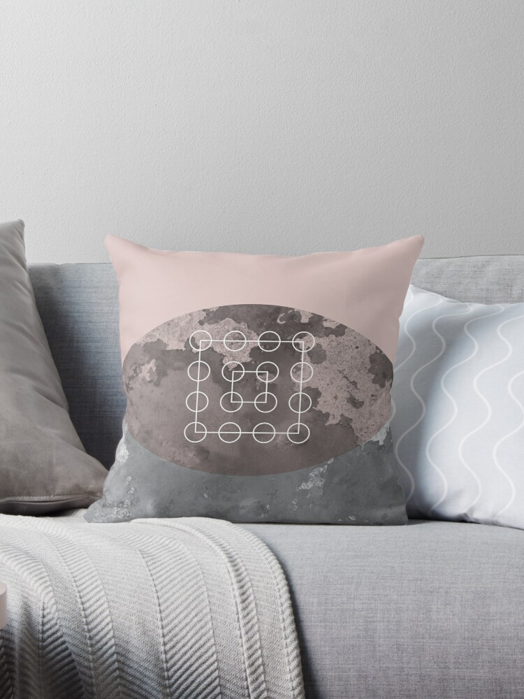 Blush Geometric by UrbanEpiphany