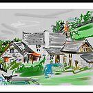 A North Devon farmhouse by Helen Imogen Field