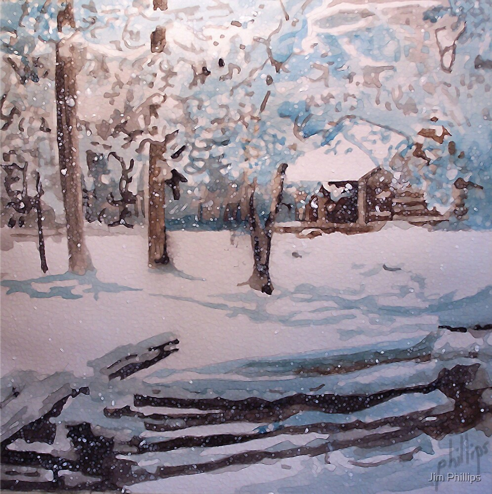 Snowbound by Jim Phillips