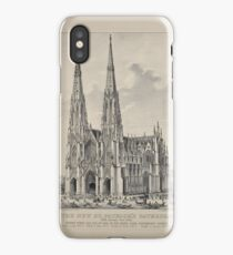 571 The new St Patrick's Cathedral Fifth Avenue New York iPhone Case/Skin