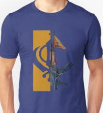 Khalistan AK47 Unisex T-Shirt