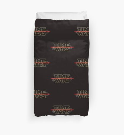 Time Wars  Duvet Cover